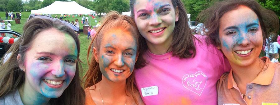 Color Run caritatif