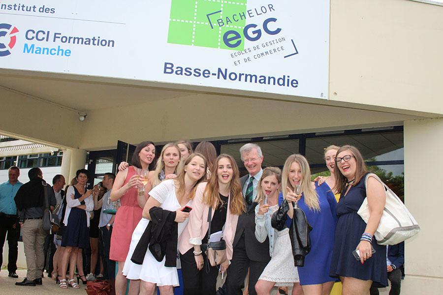 Remise de diplome des EGC 2016