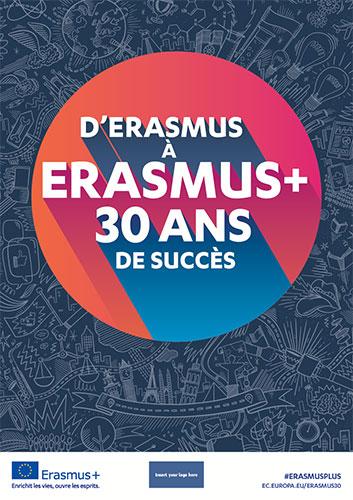 ErasmusPlus 30 ans