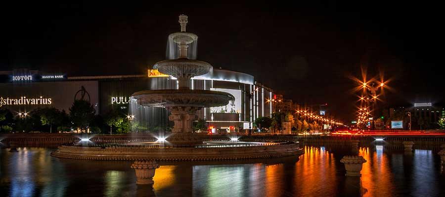 Bucarest - Place de l'union