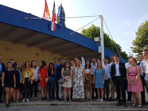 Remise des diplomes EGC 2015-2018