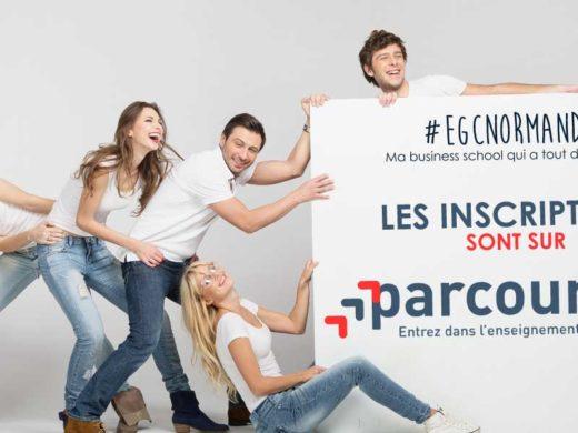 EGC Normandie sur ParcourSup