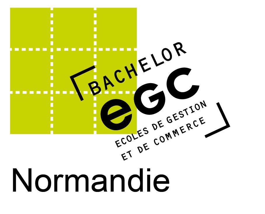 Logo EGC Normandie noir